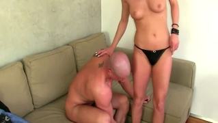 Mature Eurosex Agent Tests Out His Cock