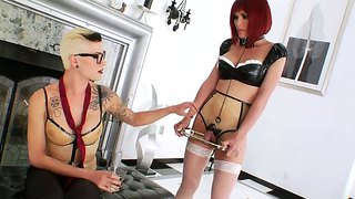 Danni Daniels And Eva Lin In Tranny Xxx Fun