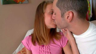 Zanna is a skinny teenage cutie that gets naked and makes her boyfriend's sexual fantasies a reality. leggy hottie gets her sweet small ass licked from behind before she takes thick cock in her mouth.