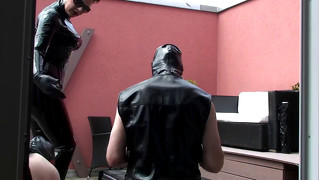 Spitting-Humiliation For 2 Slaves
