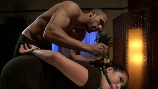 London Keyes Gets Rammed By Muscled Karlo Karrera