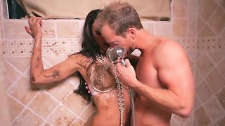 Tiffany Tyler Loves To Have Wet And Horny Hardcore Session In The Shower With Ryan Madison