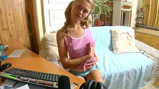 Playful Trinity Is Always Ready To Strip On Camera And She All Her Secret Skills