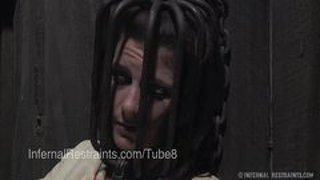 Cici rhodes medical fetish in a straight jacket
