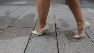 Feet In Nylon - Video 1