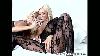 Wild bitches jessica lynn and nikita von james make lesbian sex.