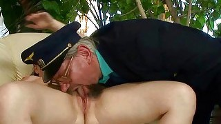 Grandpa And Teen Pissing And Fucking