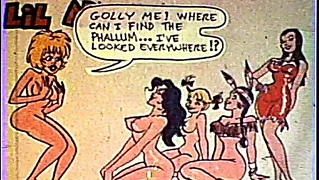 Hot Vintage Porn Cartoon Fun