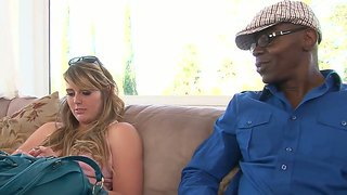 Hot And Dirty Interracial Blowjob With The Famous Big Black Cock Sean Michaels And Emma Ash