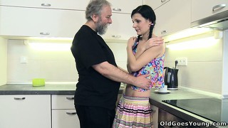 Karina gets seduced by her drunk uncle, and it feels so good