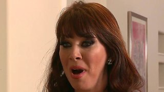 Horny Brunette Mom Rayveness Works On Keiran Lee's Cock