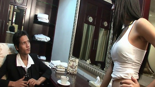 Thai Transvestite Soapy Massage