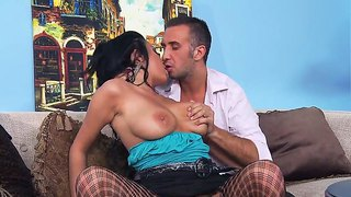 Anissa Kate Enjoys Having Horny Hunk Keiran Lee To Deep Penetrate Her Shaved Pussy