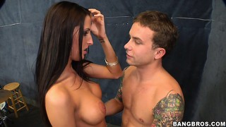 Kortney kane would rather takes his drum stick in her tight pussy
