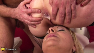 Two Mature Mothers Love To Get Some Creampie