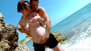 Belgian Milf Fucked On The Beach For The First Time
