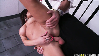 Charles dera gets seduced by with huge tits and then fucks her hole