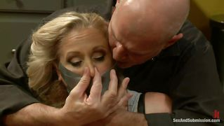 Mouth fucked until she learns her place