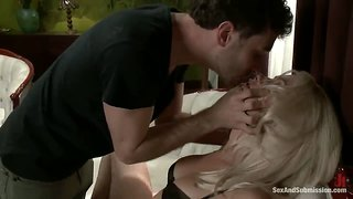 James Deen And Natasha Lyn In Brutal Action