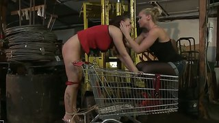 Kathia Nobili Teaches The Basics Of Pain Pleasure To Zyna Baby
