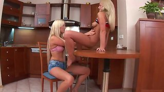 Blonde Cutie Arita Is Ready To Touch Brittany Spring's Twat Day And Night