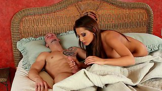 Madison Ivy Is Fresh As A Daisy For Dick Sucking