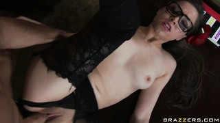 Well-behaved hipster tiffany star fucked hard by a thick cock