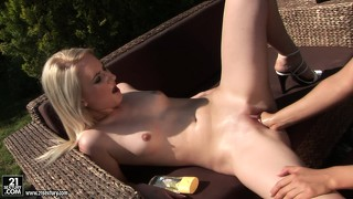 Fetish, Blond, Babe, Rusbank, Geskeer