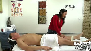 Happy Time With A Full Body Sex Massage
