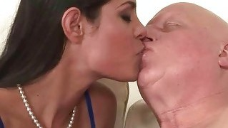 Fat Grandma Fucks Naughty Young Girl