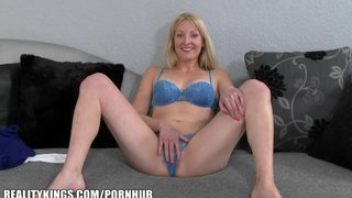 Reality Kings - Home Grown Blonde Milf Wants A Taste Of Some Big Dick