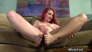 Footfucking Slut Gets Cumshot