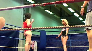 Behind The Camera Movie In The Night Fight Club With Angell Summers And Kathia Nobili