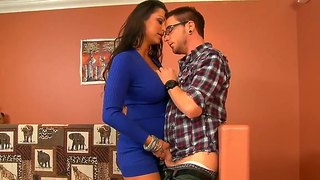 Dane Cross Enjoys Enchanting Nikita Denise's Wet Hole In Hardcore Action