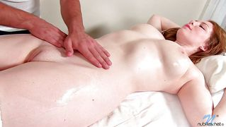 Lustful Oiled Redhead