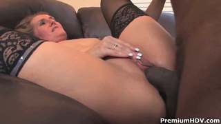 Mature Sara James Enjoys And Young Black Dick