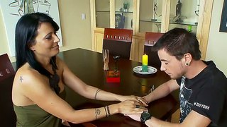 Dane Cross Gets Seduced By Milf Zoey Holloway