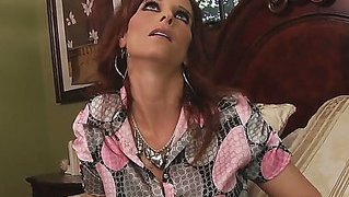 The Awesome Redhead Pornstar Milf Syren De Mer With A Amazing Ass Sucks The Mark Wood's Cock