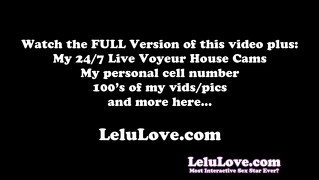 Lelu Love-Pov Bj Riding Cum On Asshole