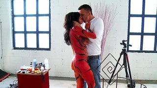 Keiran Lee And Veronica Avluv, Photo Fornication