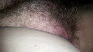 Bbw Wifes Round Hairy Pussy Mound & Belly