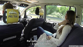 Beautiful Girl Gets Fucked In A Taxi E7