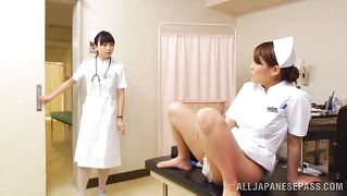 Japanese Nurse Ass Fingers Another Nurse