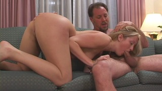She willingly lets him to enjoy every sweet hole