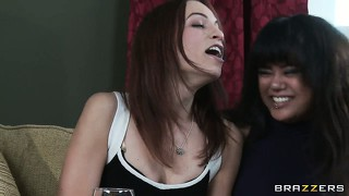 Nasty brunette milf wants to join the joy cock club and makes her plea in the kitchen