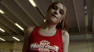 Welcome To The Lesbian Fight Club With Pretty Leyla Black, Mira Shine And Sophie Lynx