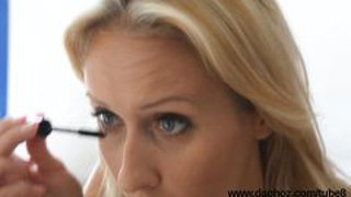 Blond Milf With Perfect Ass Shows That Hot Cheeks Naked On Erotic Makeover