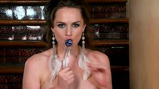 Tori Black Is Back With Her Horny Toys