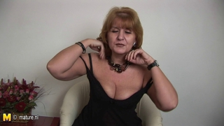 Mature Old Cunt Jennifer In Sexy Lingerie Tells Exactly What