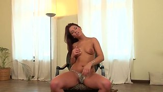 Angelique Tries Her Hardest To Make Her Sex Partner Bust A Nut In Anal Action